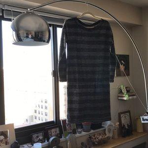 Lou & Grey Drop Waist Striped Dress